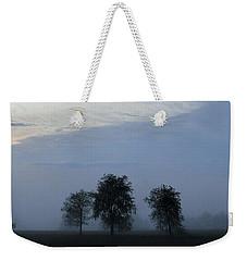 Foggy Pennsylvania Treeline Weekender Tote Bag