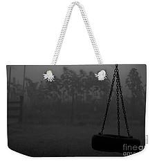 Foggy Playground Weekender Tote Bag by Cheryl Baxter