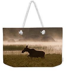 Foggy Stroll Weekender Tote Bag