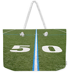 Football Field Fifty Weekender Tote Bag