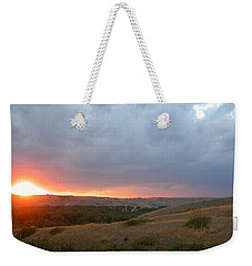 Foothills Sunset Weekender Tote Bag by Stuart Turnbull