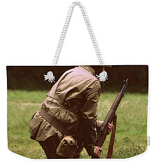 Weekender Tote Bag featuring the photograph For Freedom by Lydia Holly