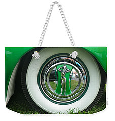 Weekender Tote Bag featuring the photograph Ford 1946 by Anna Ruzsan