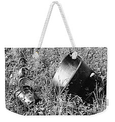 Weekender Tote Bag featuring the photograph Forgotten by Chriss Pagani