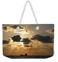 Weekender Tote Bag featuring the photograph Fort Lauderdale Sunrise by Clara Sue Beym
