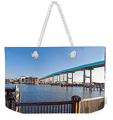 Fort Myers Bridge Weekender Tote Bag