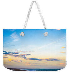 Weekender Tote Bag featuring the photograph Forte Clinch Pier by Shannon Harrington