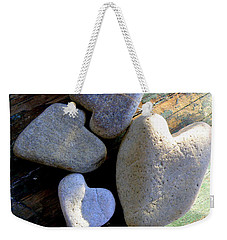 Four Stone Hearts Weekender Tote Bag