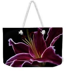 Fractal Lily Petals Weekender Tote Bag
