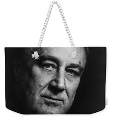 Weekender Tote Bag featuring the photograph Franklin Delano Roosevelt  - President Of The United States Of America by International  Images