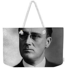 Weekender Tote Bag featuring the photograph Franklin Delano Roosevelt by International  Images