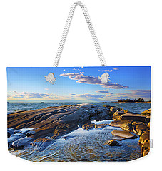 Franklin Shoreline Weekender Tote Bag by John  Bartosik