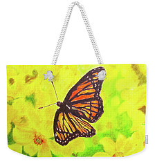Free To Fly Weekender Tote Bag by Beth Saffer
