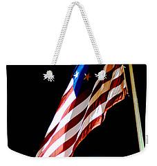 Flag On Federal Hill Weekender Tote Bag
