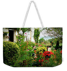 French Cottage Garden Weekender Tote Bag