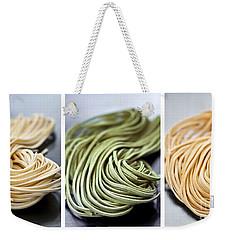 Fresh Tagliolini Pasta Weekender Tote Bag by Elena Elisseeva