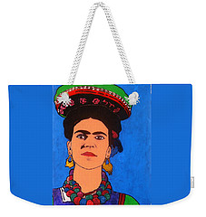Frida Kahlo Weekender Tote Bag by Roberto Prusso