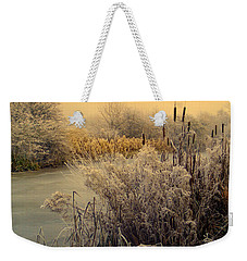 Frost Weekender Tote Bag by Linsey Williams