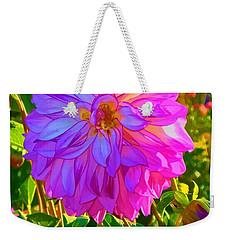 Fuchsia Delight Weekender Tote Bag by Ken Stanback