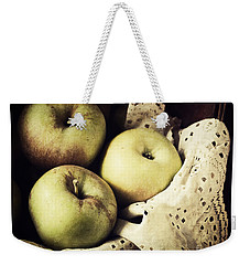 Fuji Apples Weekender Tote Bag