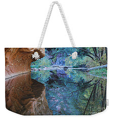Fully Reflected Weekender Tote Bag by Heather Kirk