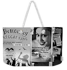 Weekender Tote Bag featuring the photograph Fun At The Marina by Janie Johnson