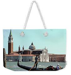 Gandola Rides In Venice Weekender Tote Bag