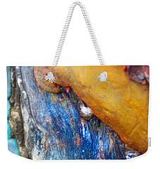 Weekender Tote Bag featuring the digital art Ganesh by Richard Laeton