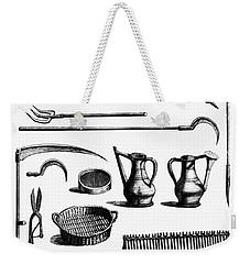 Gardening Tools Weekender Tote Bag