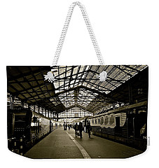 Weekender Tote Bag featuring the photograph Gare De Saint Lazare by Eric Tressler