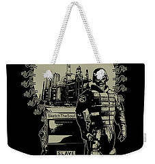 Gas Riot  Weekender Tote Bag by Tony Koehl