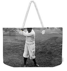 Weekender Tote Bag featuring the photograph Gene Sarazen - Professional Golfer by International  Images