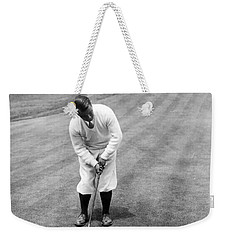 Weekender Tote Bag featuring the photograph Gene Sarazen Playing Golf by International  Images
