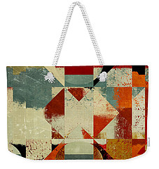 Geomix 04 - 39c3at227a Weekender Tote Bag by Variance Collections