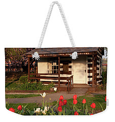 George Washington's House Weekender Tote Bag by Jeannette Hunt