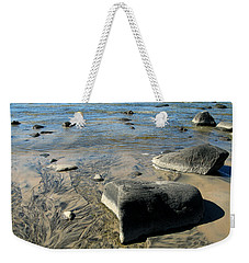 Georgian Bay Rocks Weekender Tote Bag