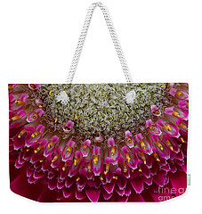 Gerbera Macro Weekender Tote Bag by Jim and Emily Bush