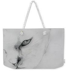 Ghost Cat Weekender Tote Bag