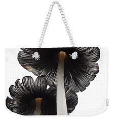 Giant Mushrooms In The Sky Weekender Tote Bag by Kent Lorentzen
