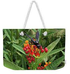 Giant Wasp Weekender Tote Bag