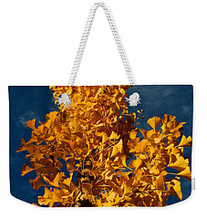 Gingko To The Sky Weekender Tote Bag
