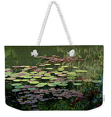 Giverny Lily Pads Weekender Tote Bag