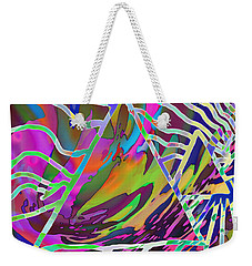 Weekender Tote Bag featuring the mixed media Giza by Kevin Caudill