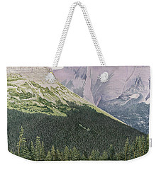 Glacier National Park Montana Weekender Tote Bag