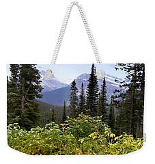 Glacier Scenery Weekender Tote Bag