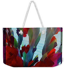 Weekender Tote Bag featuring the digital art Glad by Richard Laeton