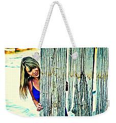 Glamour Peek Weekender Tote Bag