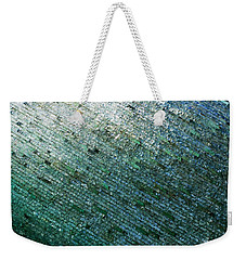 Glass Strata Weekender Tote Bag