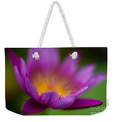 Glorious Lily Weekender Tote Bag by Mike Reid