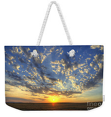 Glorious Sunrise Weekender Tote Bag by Jim and Emily Bush